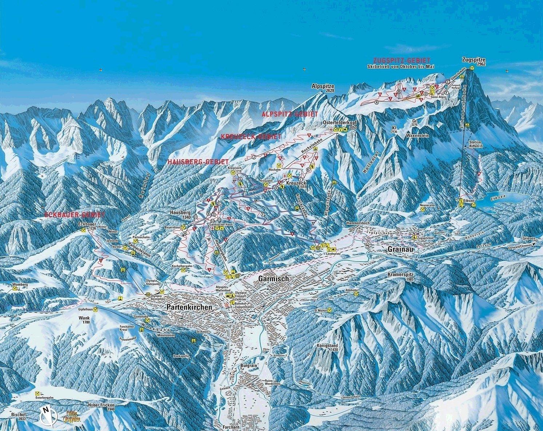 горные лыжи в черногории схемы трасс