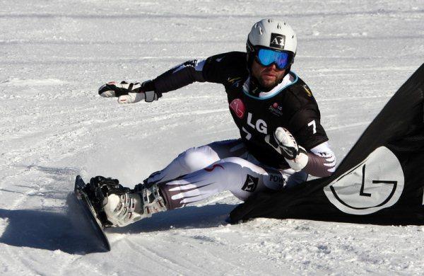 Сноуборд. Параллельный гигантский слалом. Проммеггер  «Я думаю, что мы все  настроены на Олимпийские игры» 0394ec41df3